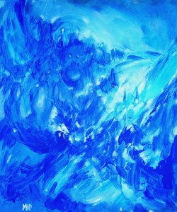 RHYTM & BLUES 65cmx54cm