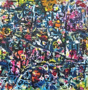 IN TRASHING MOOD 50cmx50cm